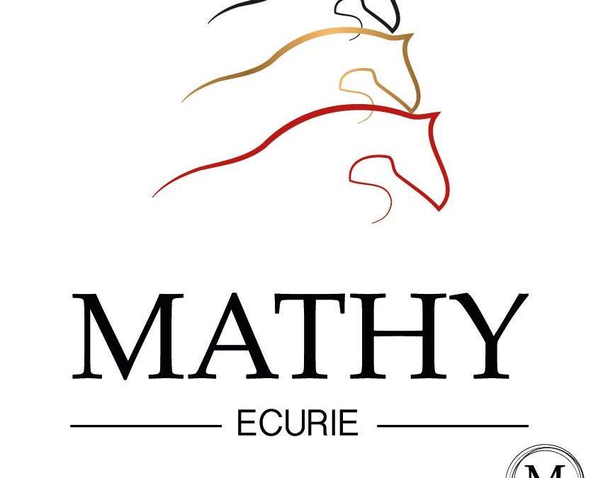 Un logo noir-jaune-rouge